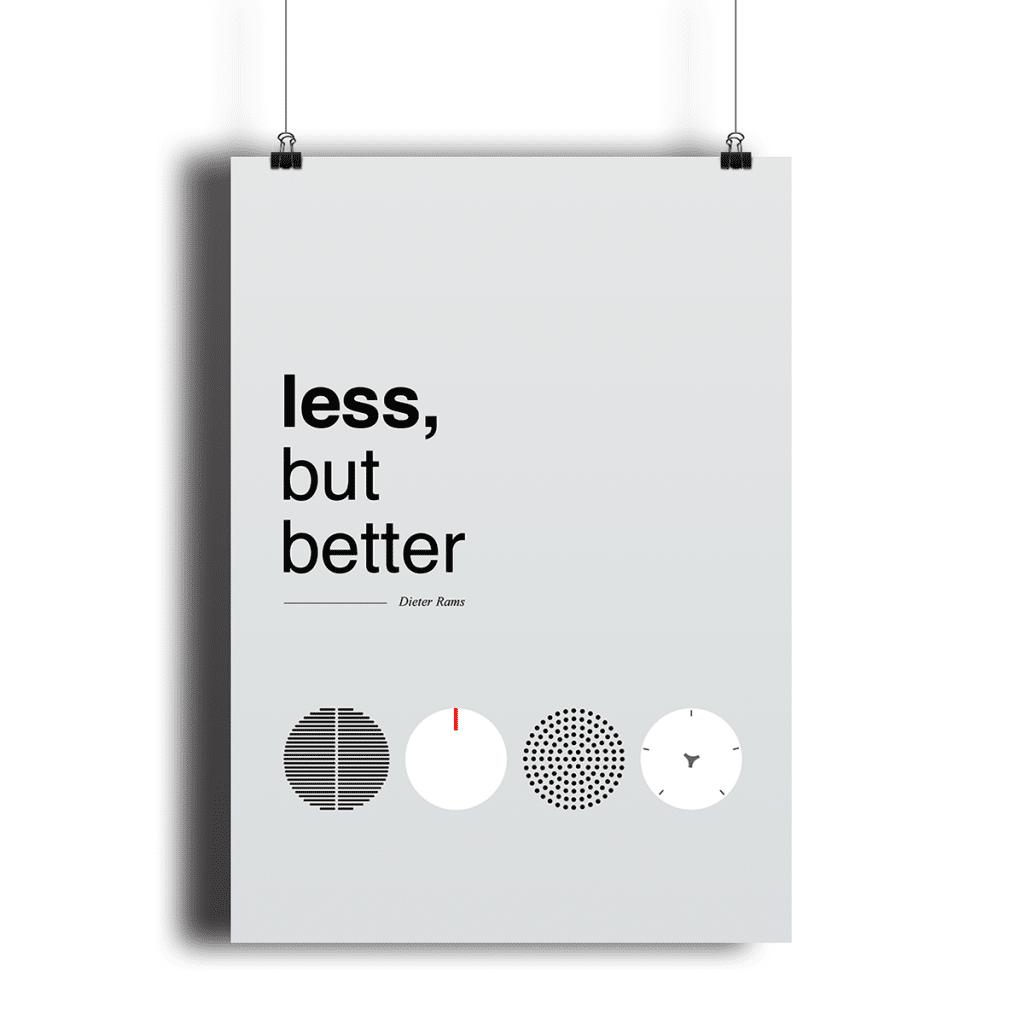 less_but_better